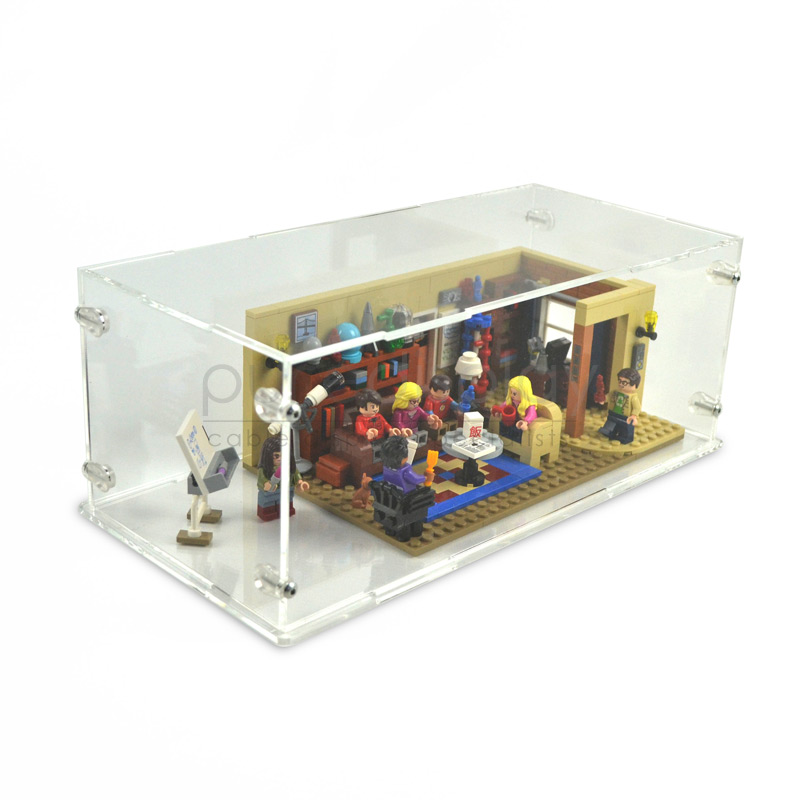 Case For Lego 21302 The Big Bang Theory