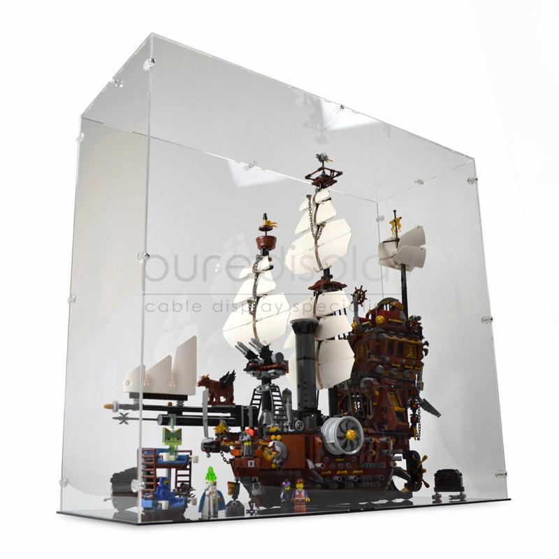 Display Case For Lego Movie 70810 Metalbeard S Sea Cow