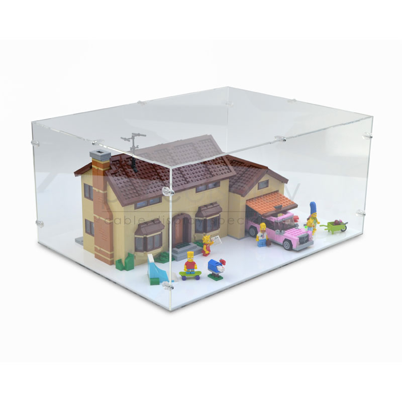 Case For Lego 71006 The Simpsons House