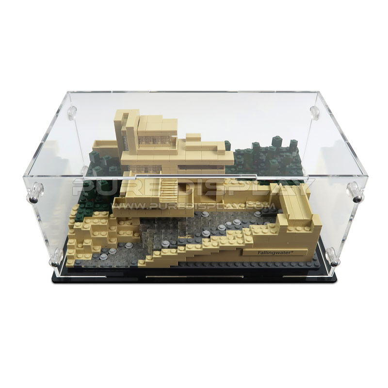 Lego 21005 architecture fallingwater display case - Falling waters lego ...