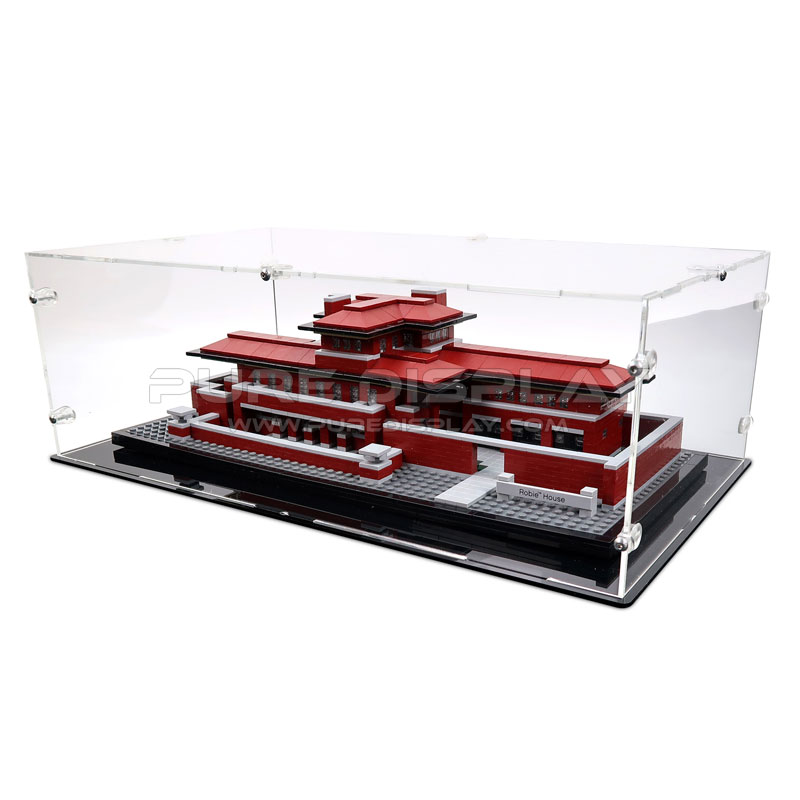 display case for lego 21010 robie house