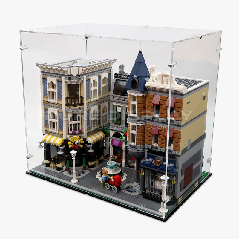 Lego 10255 assembly square display case for Case lego city